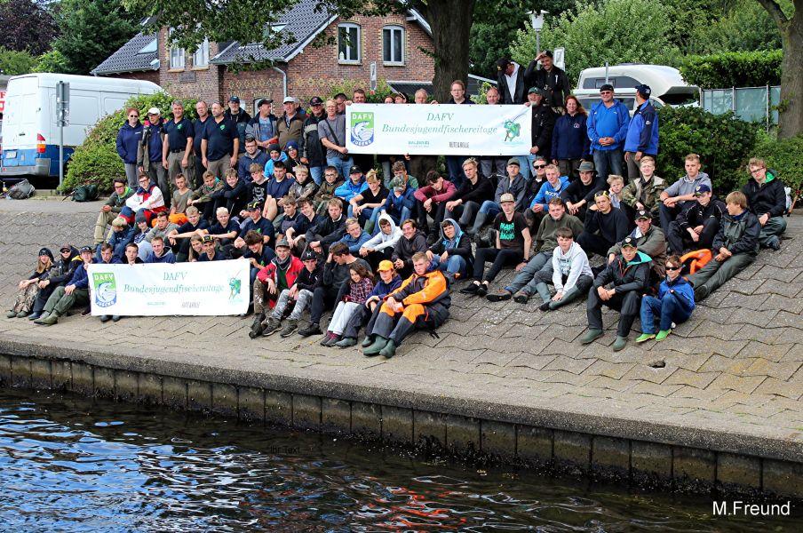 Bundesjugendfischereitage vom 25.07. – 30.07.2017 in Westensee