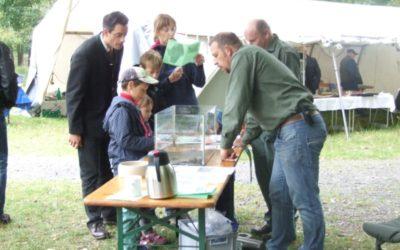 Tag der Jagd und Fischerei im Wildpark Knüll