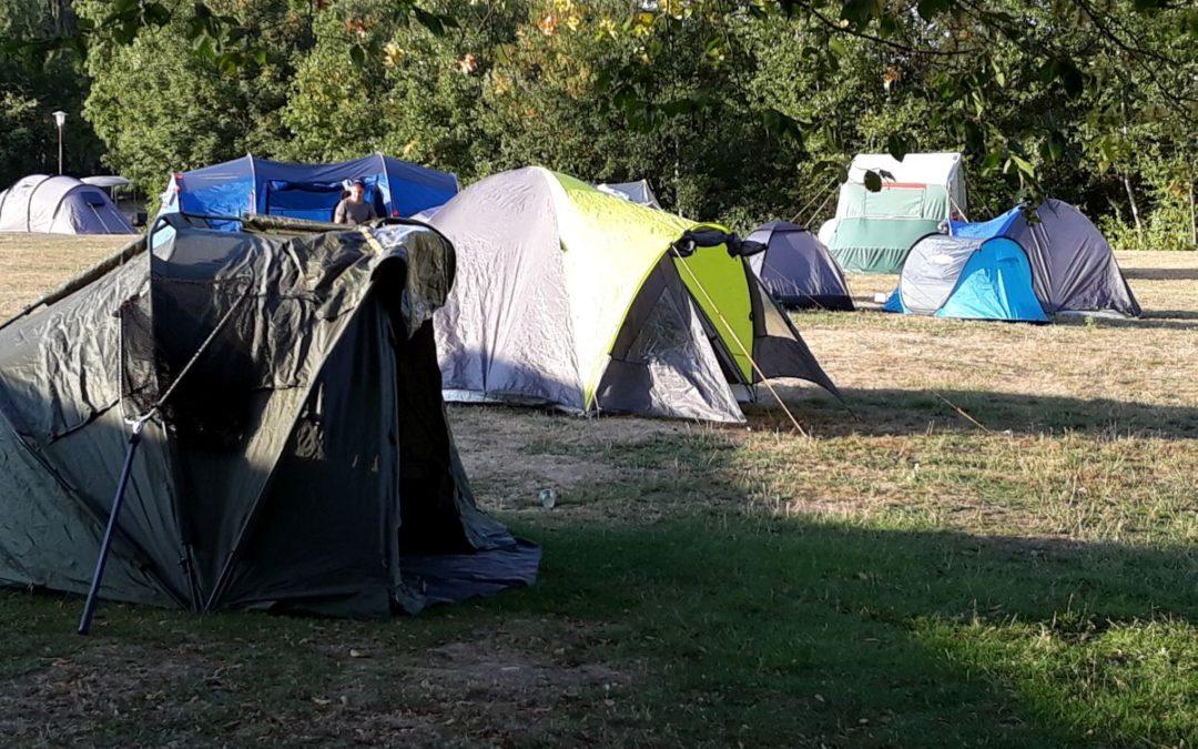 Jugendzeltlager am Wißmarer See in Wettenberg
