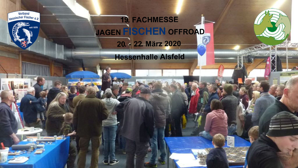 Besuchen Sie uns auf der Messe vom 20.-22.03.2020 in Alsfeld