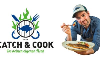 Neue Kampagne des DAFV : Catch & Cook – Iss deinen eigenen Fisch
