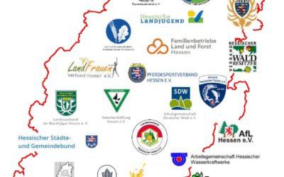 Auch wir sind dabei ! Aktionsbündnis Ländlicher Raum Hessen